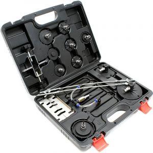 Adaptateur connecteur Set 11pcs Pour purgeur de frein pneumatique - WILTEC