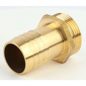 Embout mâle laiton (30 - 33 x 42 - 31,5) - Ø tuyau mm : 30 - Filetage : 33 x 42 - BOUTTé
