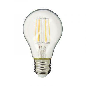 Ampoule à filament LED A60, culot E27, cons. (60W eq.), lumière blanc chaud - XANLITE