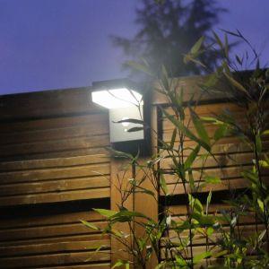 Applique murale Solaire LED Vénus à détecteur | blanc-neutre-4000k - noir - LUMIHOME