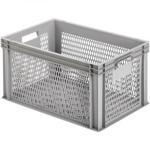 Bac en plastique Alutec 75070 grillagé (l x h x p) 600 x 320 x 400 mm gris 1 pc(s)