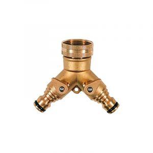 Nez de robinet 2 voies laiton automatique - RACO EXPERT