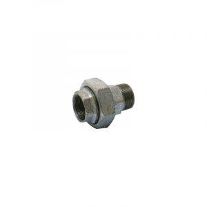 "Raccord union fonte noir Mâle Femelle 1""1/4 - VIRFOLLET"
