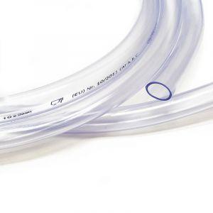 Tuyau en PVC 19 x 2,0 mm dans une qualité alimentaire Transparent Flexible Marchandise au mètre - WILTEC