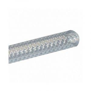 Tuyau Cristal armé FILCLAIR AL sans phtalate (au mètre) ALFAFLEX - Ø int x Ø ext: 6 x 12 mm