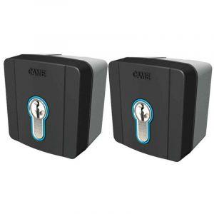 came kit 2 x sélecteur à clé seld1k01 8k06sl-004