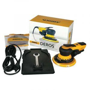 Ponceuse Mirka DEROS 625CV 150mm 2,5 en boite carton