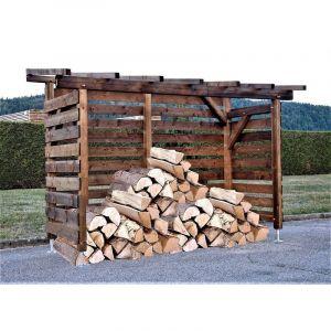 WMU - Abri bûches en bois |8 stères| Robuste