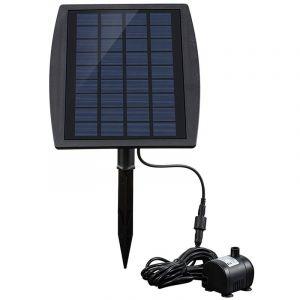 Pompe a eau decorative de fontaine 9V 2.5W d'energie solaire - ASUPERMALL