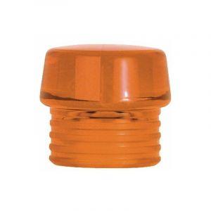 Embout percusion, orange transparent pour Safety massette plastique Type 831-8, 60 x 195 - BANYO
