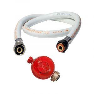 Détendeur gaz Propane 37 mbar + Tuyau gaz butane/propane flexible 1.50 m - PROWELTEK