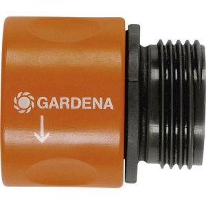 Raccord de transition GARDENA 917-50 26,44 mm (3/4) (filet ext.), raccord enfichable
