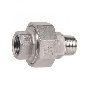 Raccord union inox droit à visser - M 1'' - F 1'' - Sféraco - SFERACO