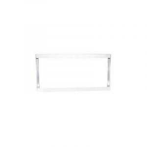 Cadre Aluminium pour Dalle LED 120x60cm - Finition Blanc - DELITECH