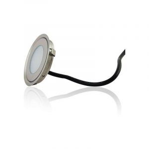 Mini spot LED encastrable rond ultra-plat | Blanc Chaud 2700K - LECLUBLED