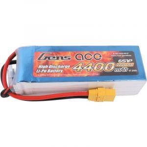 Batterie LiPo 22,2 V 4400 mAh 35C Q139302 - GENS ACE
