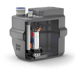 Station de relevage 100L - Pompe Inox 220V - Eaux chargées - PEDROLLO