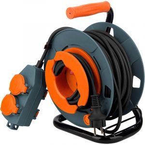 Enrouleur bricolage - 4 prises 16A - 3G1,5mm² - 30m - Zenitech