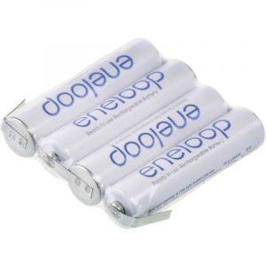 Pack daccus 4x LR03 (AAA) NiMH Panasonic 126872 4.8 V 750 mAh