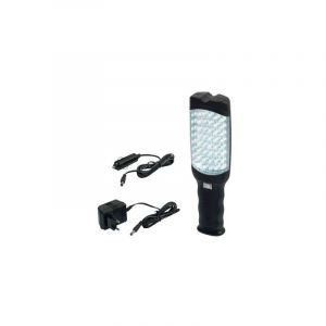 Lampe Baladeuse 48 LEDS taille XL rechargeable + allume cigare - HELIOTRADE