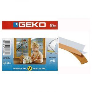 Joint Porte et Fenêtre Coulissant Profil V Transparent 10ml - GECKO JARDIN