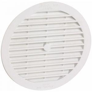 Classique PVC : Ronde D.175 blanche avec moustiquaire - NICOLL
