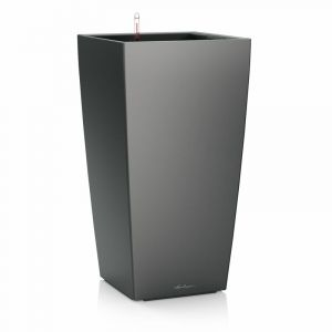 Cubico Premium 50 - kit complet, anthracite métallisé 95 cm - LECHUZA