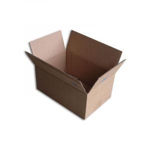 Lot de 25 Boîtes carton (N°26) format 260x170x120 mm - ENVELOPPEBULLE