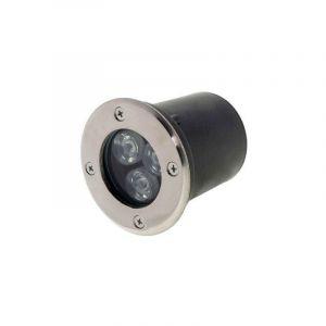 Spot Extérieur Encastrable LED IP65 220V Sol 3W 18° - Blanc Chaud 2300K - 3500K - SILAMP