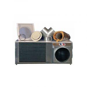 Pompe à chaleur réversible pose en comble gainable sans unité extérieure - RECUPAIR