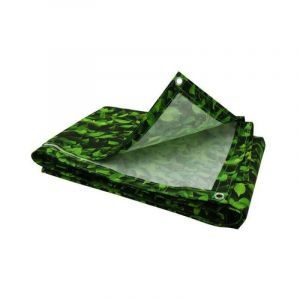 Brise vue feuillage vert imprimé 100 cm - Vert - 100 cm - OSE a91c601f222