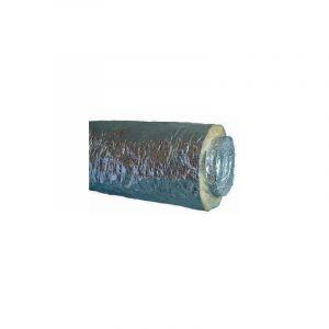 10m Gaine Souple Alu Insonorisée 25 mm A1/M0 D100 - ECONONAME - GSAII100/25L3 Diam 100 mm
