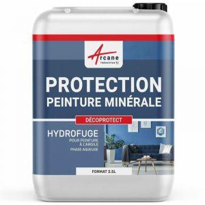 Protection & Imperméabilisant peinture argile & chaux - DECOPROTECT - ARCANE INDUSTRIES - Transparente - Liquide - 2.5 L