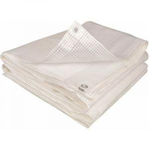 Bâche armée transparente 160g/m2 4 x 10 - TERRE JARDIN