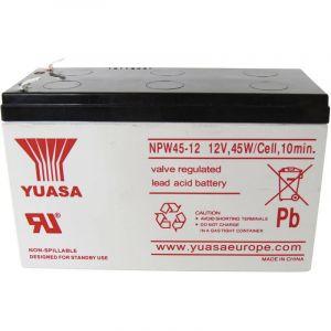Batterie au plomb 12 V 8.5 Ah Yuasa NPW45-12 plomb (AGM) (l x h x p) 151 x 97.5 x 65 mm connecteur plat 6,35 mm auto-déc