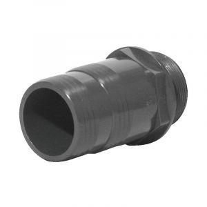 Raccord fer PVC pression cannele fil M 30 26x34 - GLYNWED