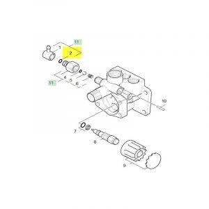 Joint Torique 8.0 X 2.0 63621010 Pour NETTOYEUR HAUTE-PRESSION - KARCHER