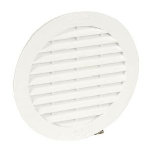 Grille aération ronde pour tuyau fibrociment Ø 100 mm type BC110 - NICOLL