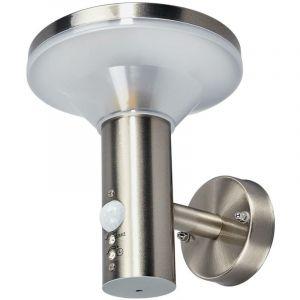 LED Lampe Exterieure Detecteur De Mouvement 'Jiyan' en inox - LAMPENWELT
