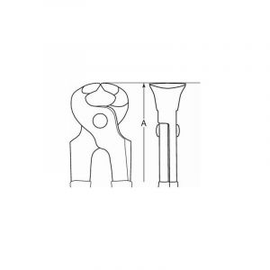 Bahco Tenaille antidéflagrante AL-BR, 195 mm - NS413-200