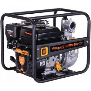 Motopompe thermique extrême pression 6,5 bars 212cc 30m3 heure HPWP30P - Noir - Villager