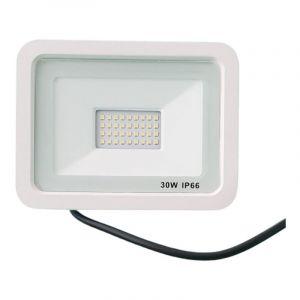 Projecteur LED Extérieur 30W IP66 BLANC - Blanc Neutre 4000K - 5500K - SILAMP