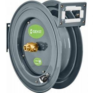 Geka ® - GEKA Enrouleur de tuyau PA 20 pour eau boîtier acier pulvérisé raccord de sortie 3/4 po.