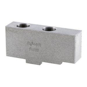 Mors rapporté non trempé, non étagé, 3 éléments, pour mandrin à crémaillère à trois mors DURO-T, Taille : 160 mm - ROHM