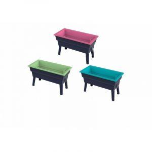 Jardinière 40L à pieds amovibles Calipso Mini Vert - OUTILS-ET-NATURE.FR