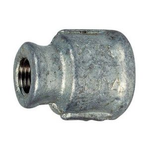 240 - manchon FF réduit galva Femelle - Femelle 2'' - 3/4''