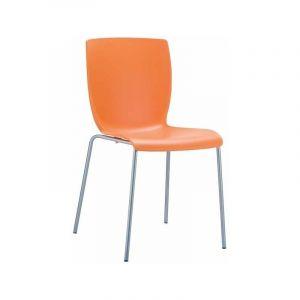 Chaise design Mio orange - CLP