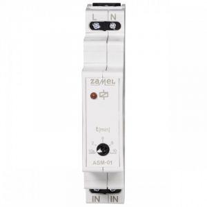Module relais avec temporisation pour éclairage d'escalier - Zamel