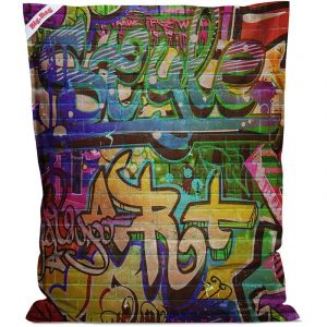 Coussin Géant The Big Bag Printed graffiti - SITTING POINT