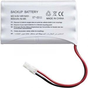 Batterie de secours 9001001 pour moteur de porte de garage et portail SOMFY - - 2400720.